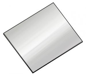 M-41 Chapas de acero inox para pared