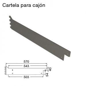 RC-2 Cartela para cajón