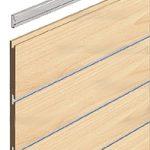 Perfil panelable horizontal